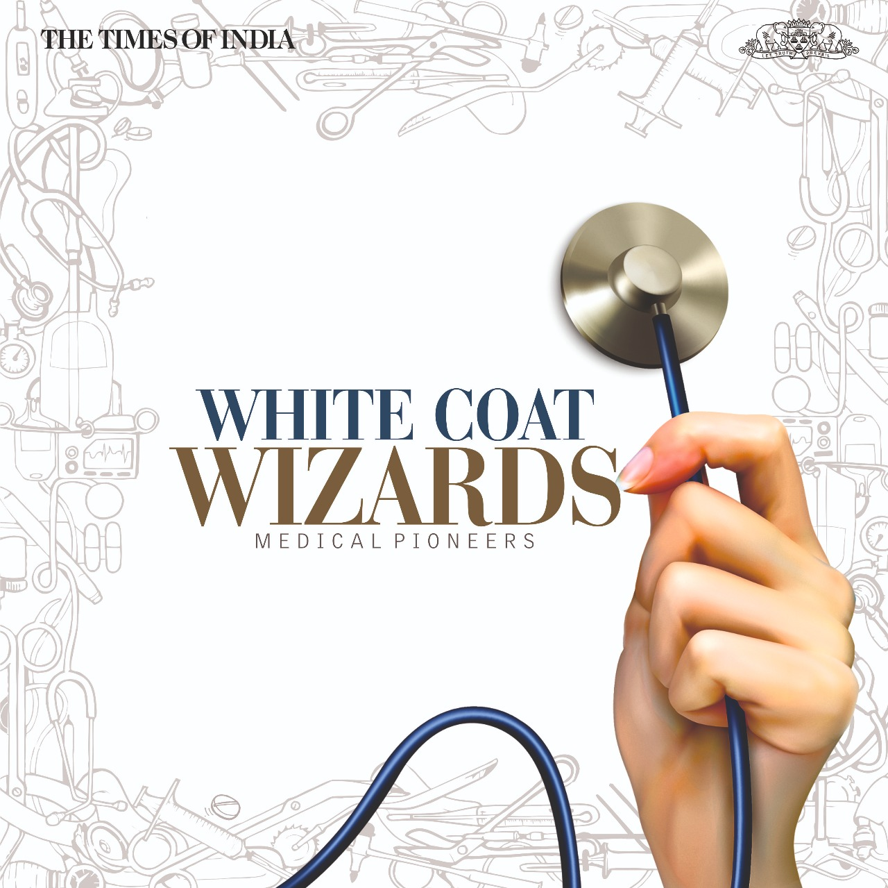 Coffee Table Book White Coat Wizards By The Times Of India